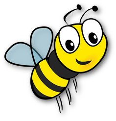 Rysunek pszczółki - symbol grupy nr 2