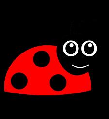 Rysunek biedronki - symbol grupy nr 3