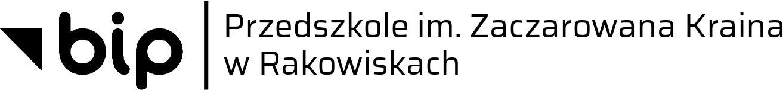 Logotyp Biuletynu Informacji Bublicznej z napisem Przedszkole im. Zaczarowana Kraina w Rakowiskach