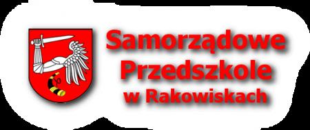 Logo Samorządowego Przedszkola w Rakowiskach z herbem gminy Biała Podlaska